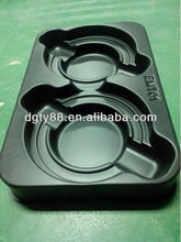 accept custom ABS vacuum forming thick plastic esd tray for pcb