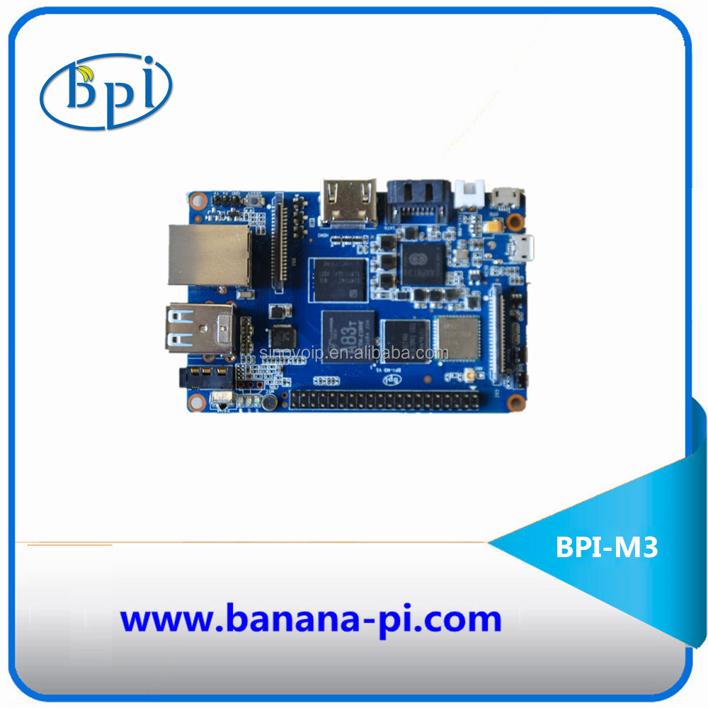 Best powerful from Banana Pi series product Octa-Core 2GB RAM BPI-M3 Banana PI M3 development board