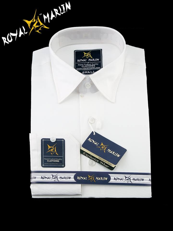 White Shirt 100% Cotton Shirt Pure White