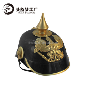 Plastic Gold Eagle Pattern Toy Prussia German Army Helmet