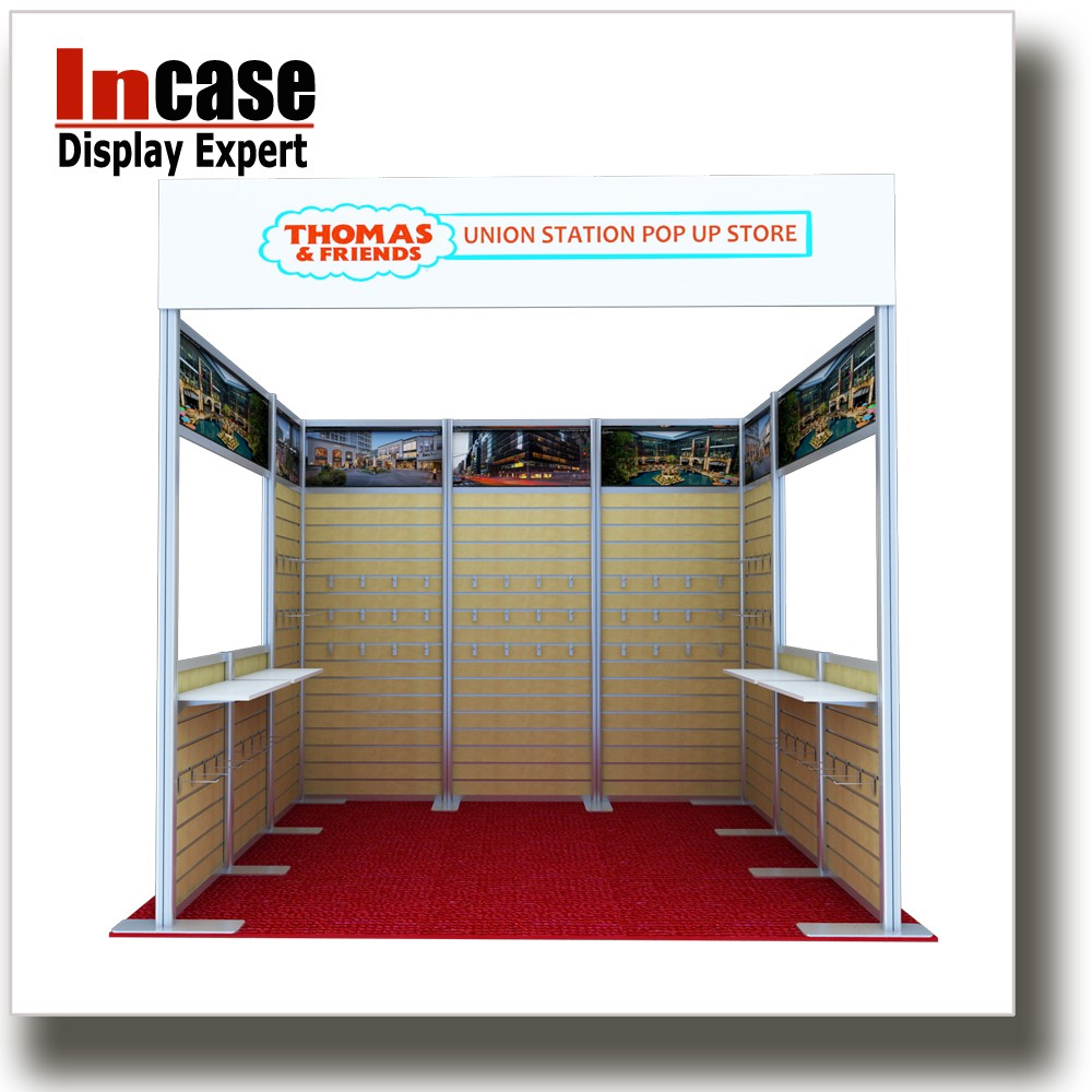 Incase 3x3m Aluminum modular exhibition booth for trade <strong>show</strong>