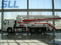 Zhengzhou Sincola used concrete mixer truck with pump