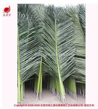 Foliage Stems with artificial big green leaves artificial palm tree leaves