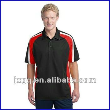 Fashionable new design cool dry moisture wicked polo shirt