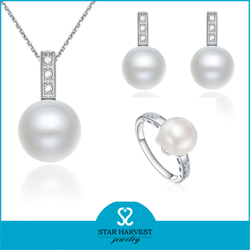 White Pearl Sterling Silver Jewelry