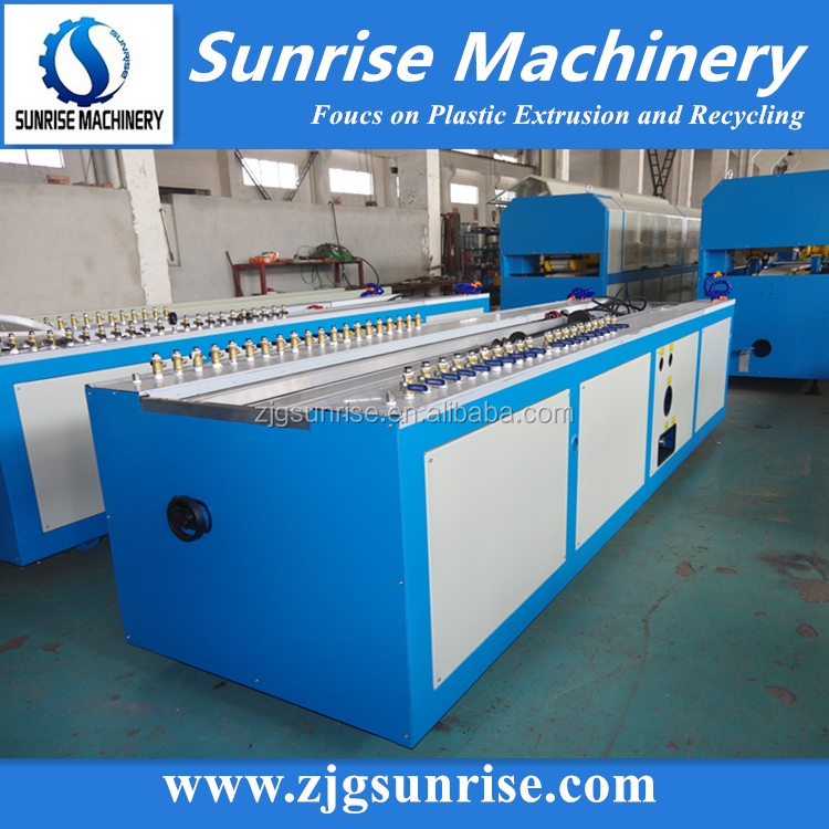 Sunrise Plastic PVC Fence Ceiling Trunking Profile Production Line