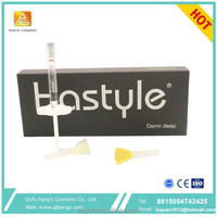 2ml hot sale Sterile CE manufacturer Hastyle anti wrinkle nose lip cheek enhancement for face injectable deep plus dermal filler