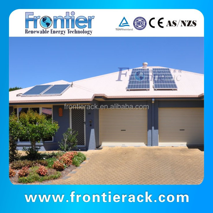 Solar Power Tin Roof Mount Frame