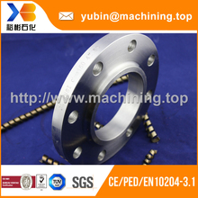 Chrome Finish Pipe Fitting Round Tube Flange