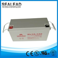 PV solar solution batteries 12v 150ah maintenance free gel storage cell with 10 years lifespan