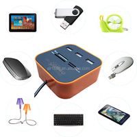 Multifunction 3 Port USB HUB Combo card reader Diver