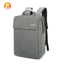 Wholesale girl unisex polyester computer anti theft business style backpack bag laptop