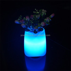 LED Pot with BT speaker,led flower pot,lighted indoor flower pots