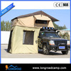 SUV roof top tailgate tent