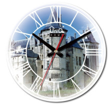 home decor New design vintage 12 inch wooden MDF wall clock