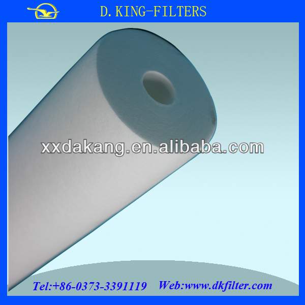 high filtering precision pvc water filter pipe for resins