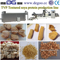 Artificial meat/textured soya protein process line /making equipment with various shapes protein