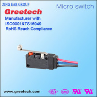 cabinet door light control switch,micro switch kw3a