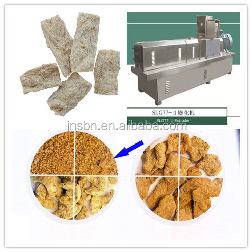 High quality low consumption defatted vegetarian ham making machine