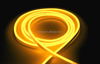 led neon rope light yellow color mini holiday decoration