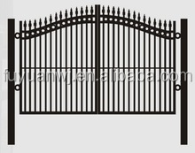 Cheap and Simple Garden Arch Wrought Iron Gates Models for Sale (Factory)