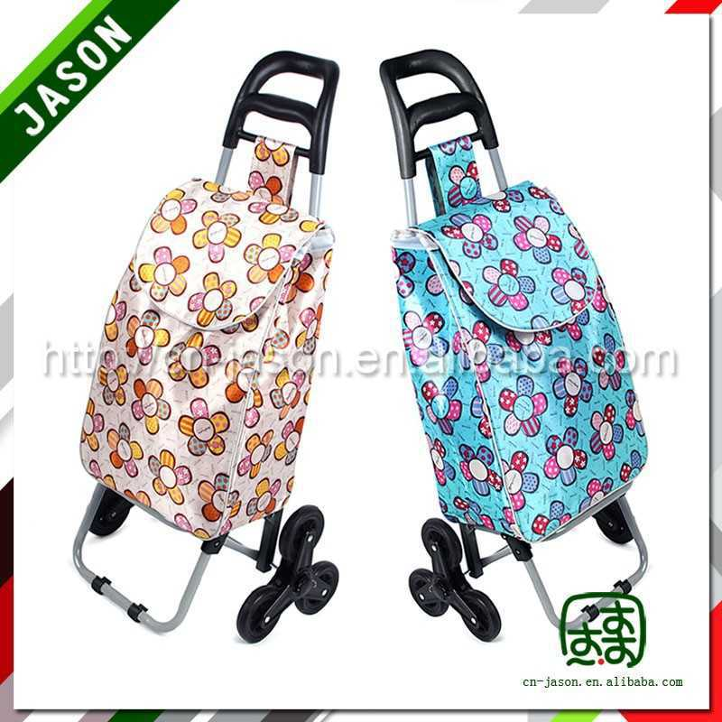 steel luggage cart super market shopping trolley