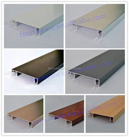 Aluminum Skirting Board with accessory for Wall