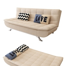 New Style Medium Back Loveseat Fabric Cover Modern Folding Sofa Bed apartment Using Living Room Portable Folding Bed