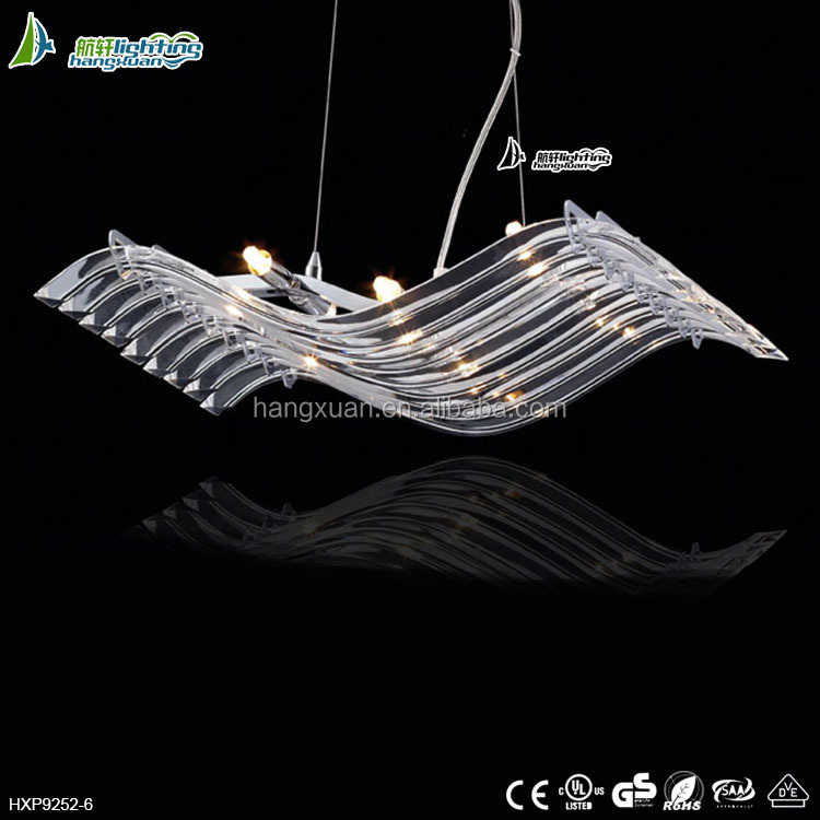 Stylish Pendants at Low Prices crystal pendant light for living room HXP9252-6