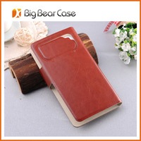 Flip leather newest case for samsung galaxy core i8260 i8262