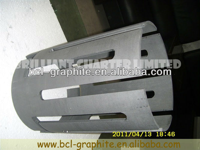 High Density Graphite machining parts small one