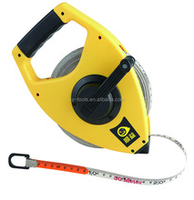 New ABS case good quality fiberglass measuring tape