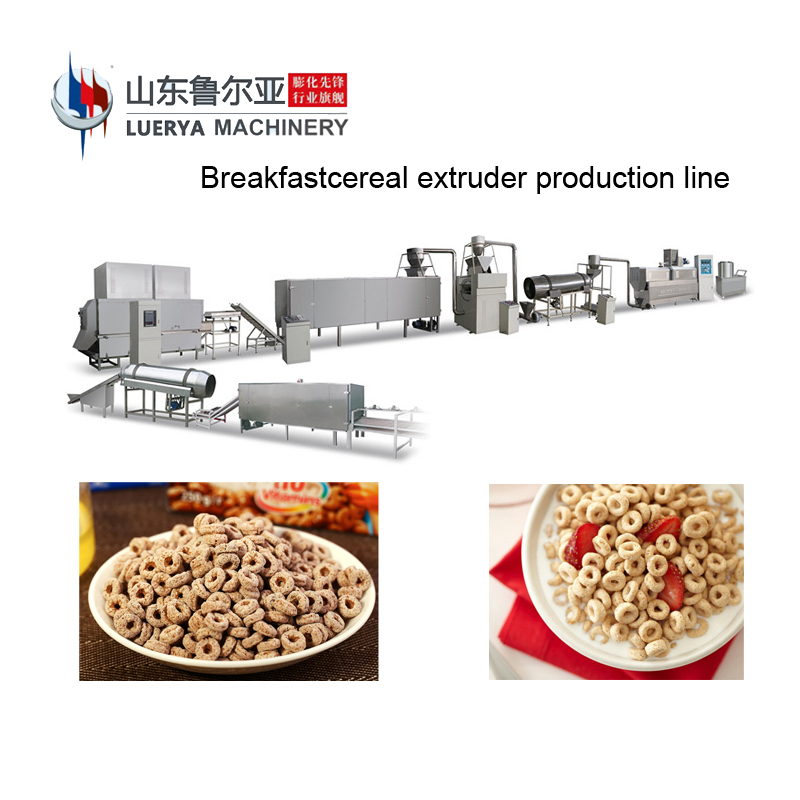 Factory Supply low price corn puff snacks extruder machine