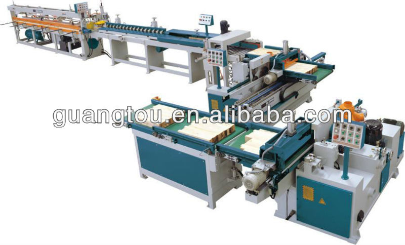 Full automatic finger joint machine