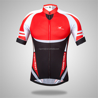 PRO TEAM race and club cycling jersey,wholesale short sleeve Custom cycling wear new arrival red black color cycling kits gear