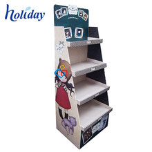 Custom Cardboard Car Accessories Display Rack,Car Audio Mat Battery Model Show Display Stand