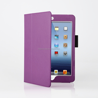 Guangzhou Danycase High Quality Colorful Frame Deluxe Leather Stand Case for ipad mini