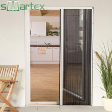 Wind-resistance brushes secure the protection against insects china manufacturer reliable bi fold screen door