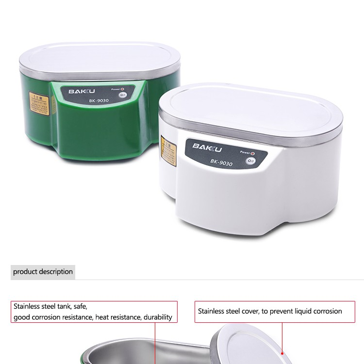 Household And Commercial Jewelry 0.8L Ultrasonic Cleaner BK-9030 LCD Display