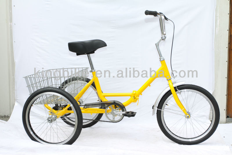 2014 Colorful three wheel bike/adult tricycle/triciclo KB-T-Z02