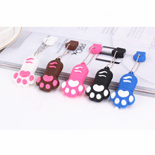 8GB cute colorful paw USB 2.0 data flash drive memory stick device /cartoon shape usb flash memory/special usb pendrive