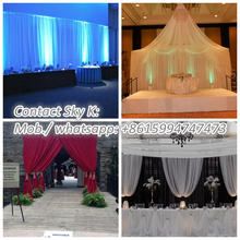 nt aluminum pipe and drape chrismas decoration for event and wedding