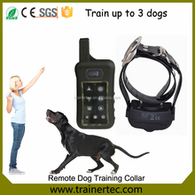 400M Electronic shock dog training collar with remote rechargeable