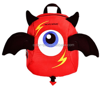 2016 fashionable 3D kids backapck, cartoon school bag,school bag new models