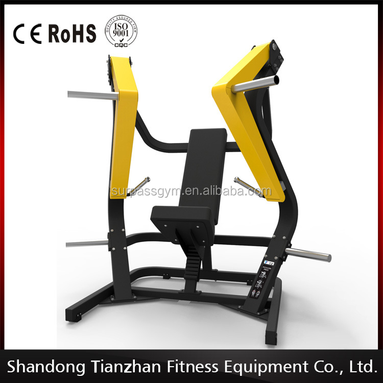 Body strong commercial gym / body slimming machine TZ-6060 wide chest press