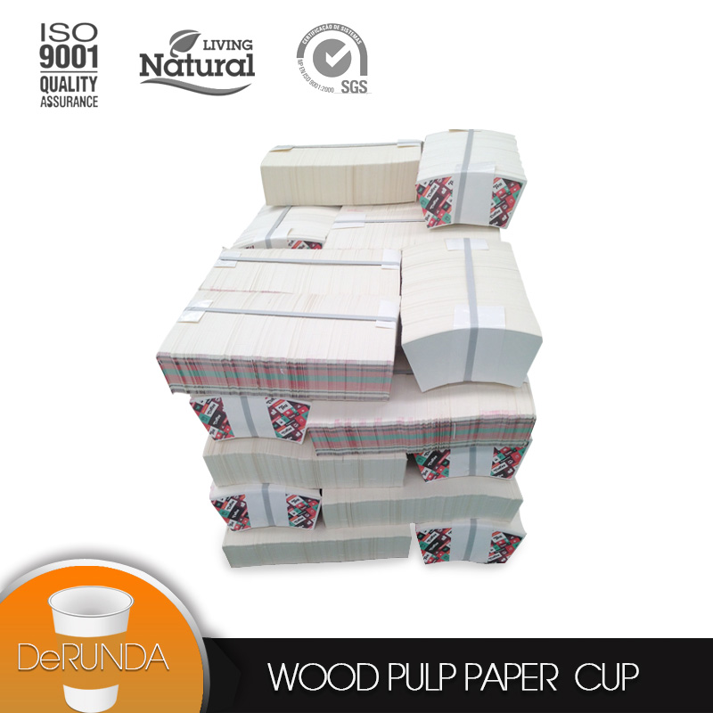 China supplier disposable Die cut pe coated <strong>paper</strong> for wholesales Ice cream cup <strong>paper</strong>