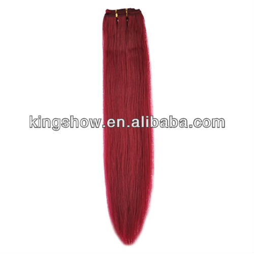 HOT !!! Human hair weave extension with custom brand name