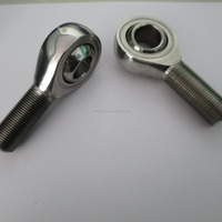 polished Universal Joint Cross Bearings pos14 pos12 male thread ball joint rod end bearing pos10