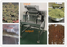 Dried fruit and leave crusher machine