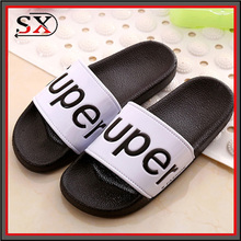custom logo anti-skip slide pool slippers beach slipper indoor shoes